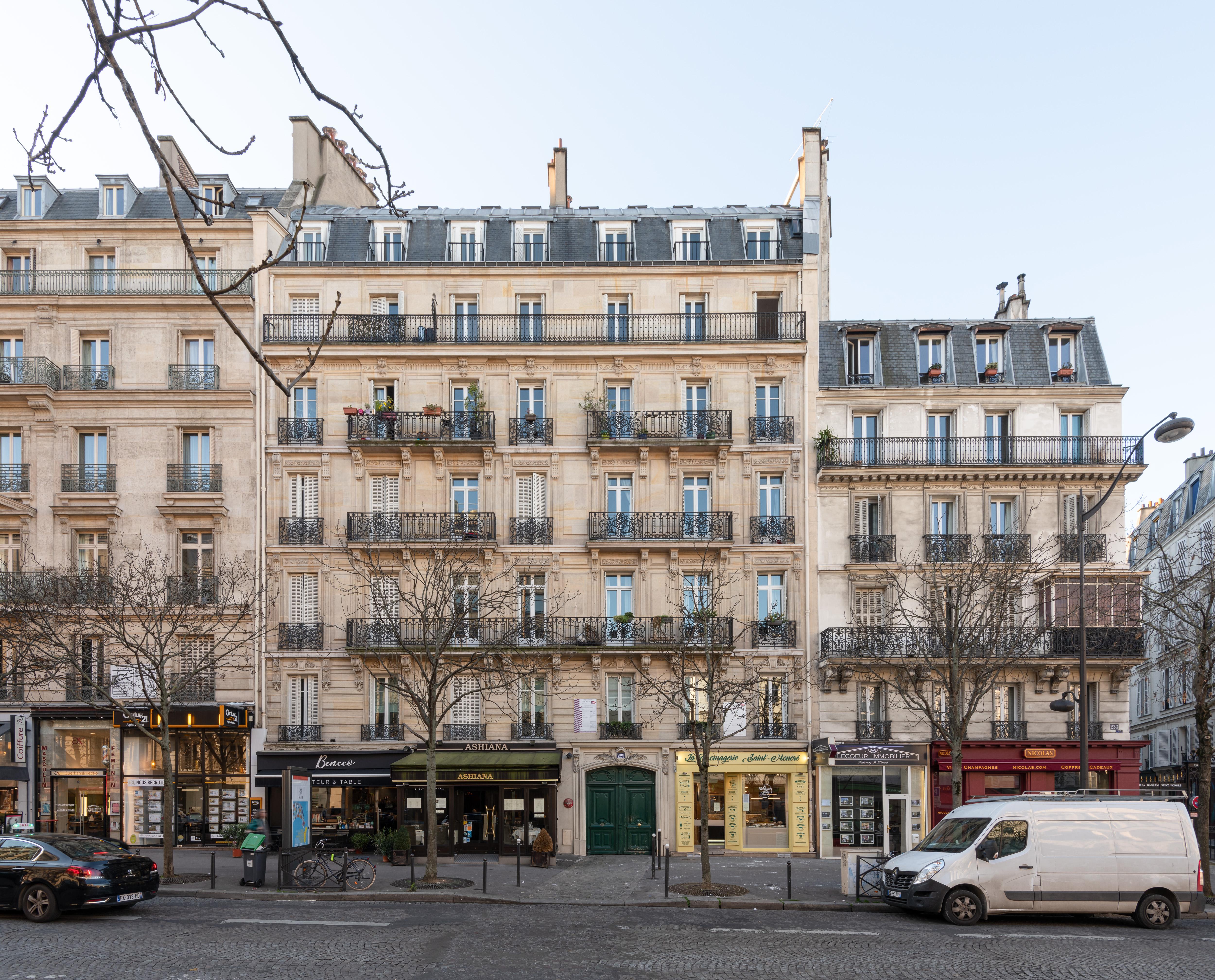 Paris - Unregulated housing